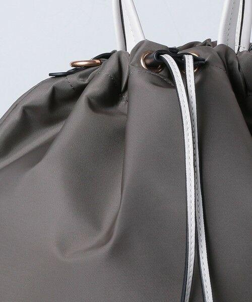 UNITED ARROWS / ユナイテッドアローズ トートバッグ | 【一部別注】<ORSETTO(オルセット)>NY/LTH ドローストリング バッグ | 詳細6
