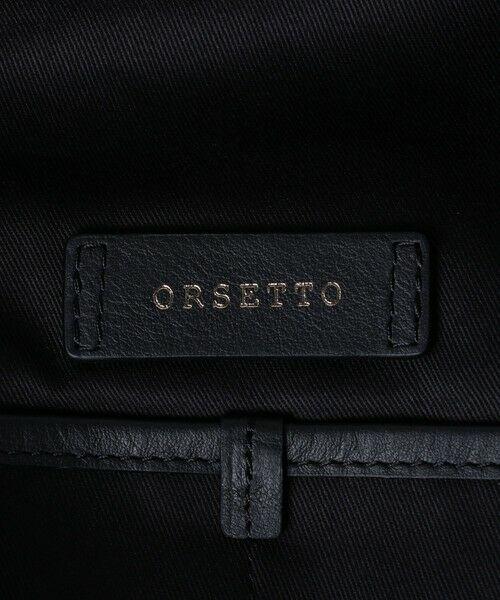 UNITED ARROWS / ユナイテッドアローズ トートバッグ | 【一部別注】<ORSETTO(オルセット)>NY/LTH ドローストリング バッグ | 詳細9