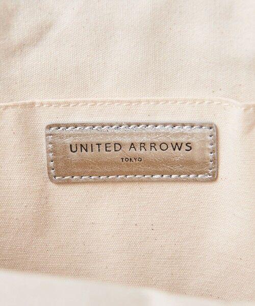UNITED ARROWS / ユナイテッドアローズ トートバッグ | UWCC MTLC ラウンド トートバッグ † | 詳細15