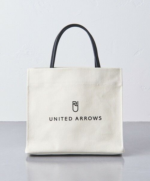 UNITED ARROWS / ユナイテッドアローズ トートバッグ | UWSC ロゴ ミニ トートバッグ †(OFF WHITE)
