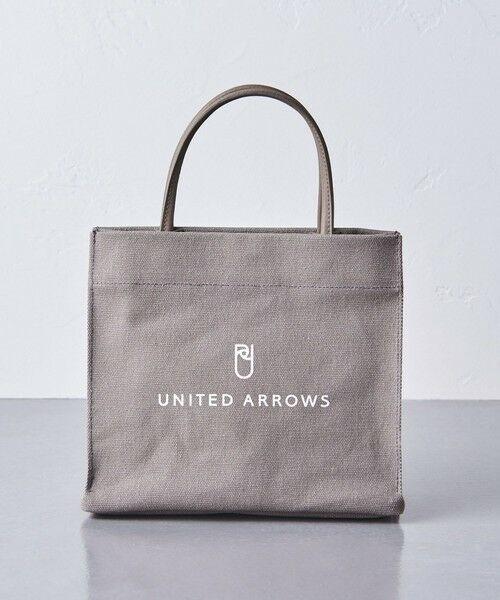UNITED ARROWS / ユナイテッドアローズ トートバッグ | UWSC ロゴ ミニ トートバッグ †(MD.GRAY)