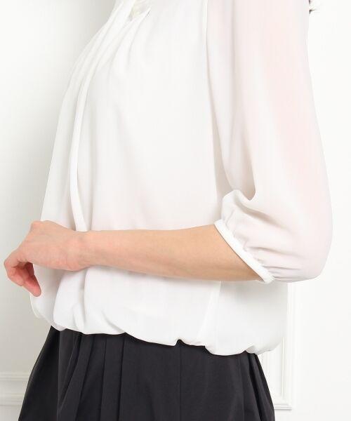 UNTITLED / アンタイトル カットソー   〔洗える〕タックドレーププルオーバー   詳細6