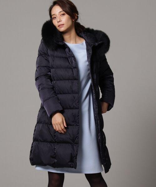綺麗めコーデにはまりやすい、ダウンコートをご紹介。