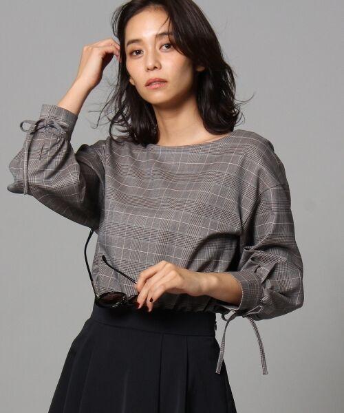 [L]【洗える】ヴィヴィアナグレンチェックシャツ