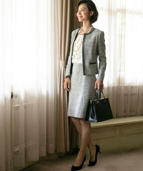 *セレモニースタイル*特別な日もいつものキャリアスタイルも、私らしく洗練された着こなしで輝こう。