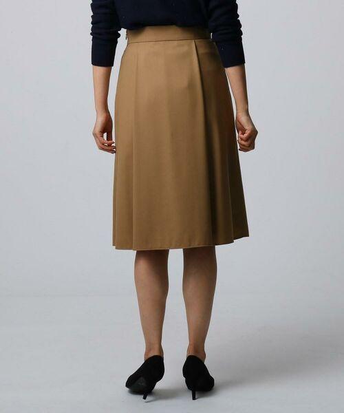 UNTITLED / アンタイトル ミニ・ひざ丈スカート | ツイルタックフレアスカート | 詳細4