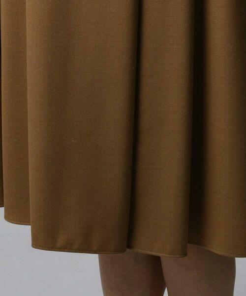 UNTITLED / アンタイトル ミニ・ひざ丈スカート | ツイルタックフレアスカート | 詳細6