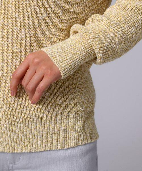 UNTITLED / アンタイトル ニット・セーター | [L]【洗える】スラブボートネックニットプルオーバー | 詳細6