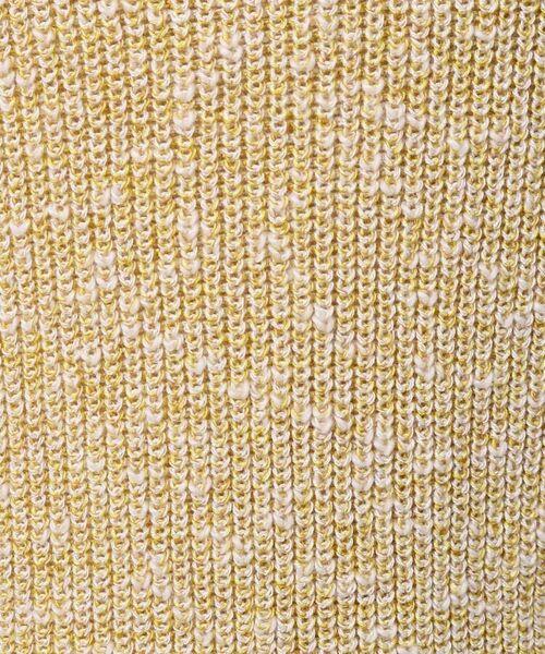 UNTITLED / アンタイトル ニット・セーター | [L]【洗える】スラブボートネックニットプルオーバー | 詳細7