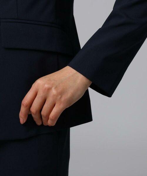 UNTITLED / アンタイトル テーラードジャケット | 【洗える】ドレッサーリオペルライトクロステーラードジャケット | 詳細6