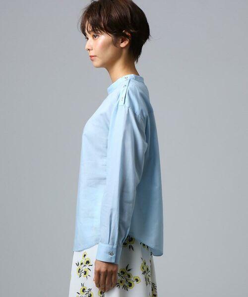 UNTITLED / アンタイトル シャツ・ブラウス | [L]肩ボタンスヴィンコットンシャツ | 詳細3