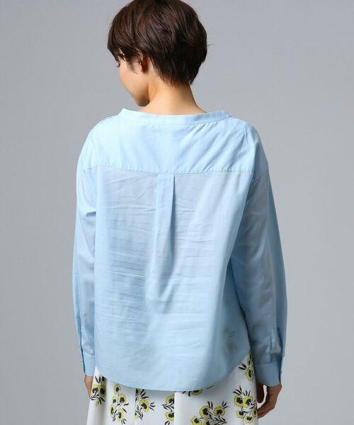 UNTITLED / アンタイトル シャツ・ブラウス | [L]肩ボタンスヴィンコットンシャツ | 詳細4