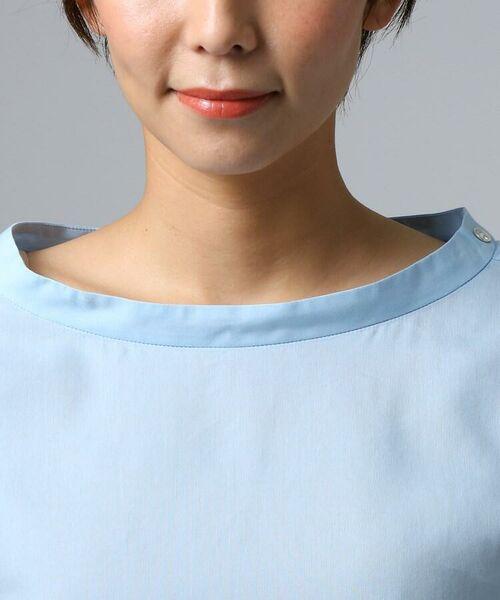 UNTITLED / アンタイトル シャツ・ブラウス | [L]肩ボタンスヴィンコットンシャツ | 詳細5