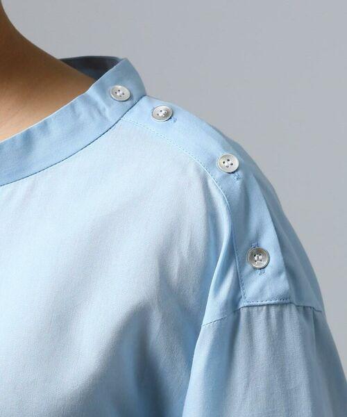 UNTITLED / アンタイトル シャツ・ブラウス | [L]肩ボタンスヴィンコットンシャツ | 詳細6