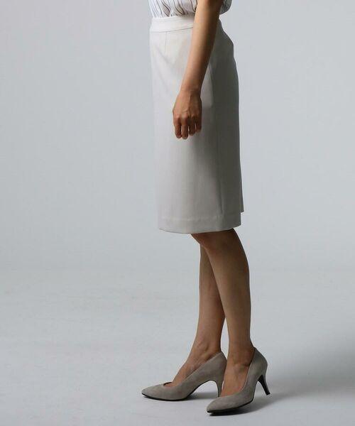 UNTITLED / アンタイトル セットアップ | [L]ミントソリビア ストライプスカート | 詳細3