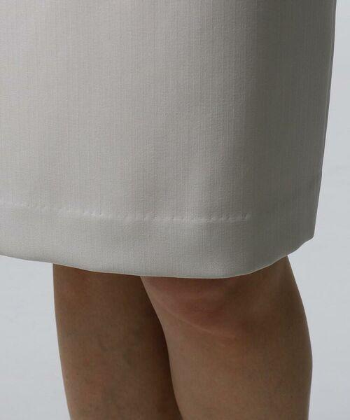 UNTITLED / アンタイトル セットアップ | [L]ミントソリビア ストライプスカート | 詳細6