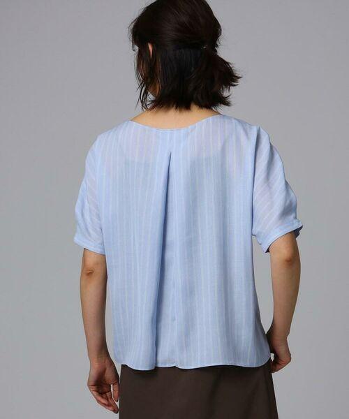 UNTITLED / アンタイトル シャツ・ブラウス   [L]【洗える】クルーズストライプスクエアシャツ   詳細5