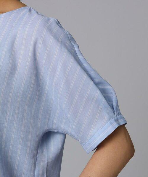 UNTITLED / アンタイトル シャツ・ブラウス   [L]【洗える】クルーズストライプスクエアシャツ   詳細7