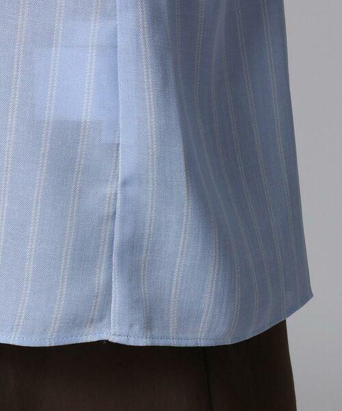 UNTITLED / アンタイトル シャツ・ブラウス   [L]【洗える】クルーズストライプスクエアシャツ   詳細8