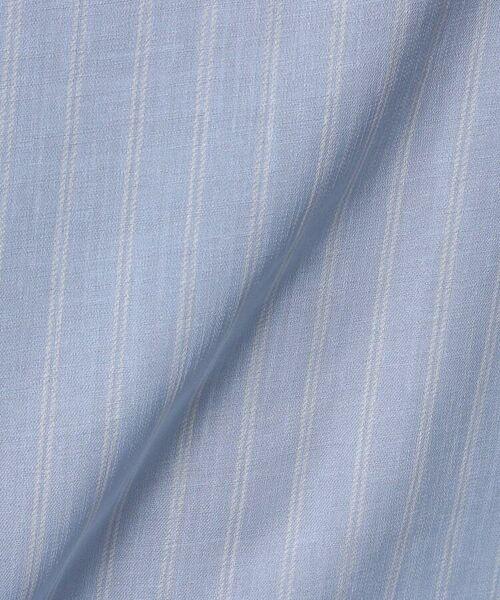 UNTITLED / アンタイトル シャツ・ブラウス   [L]【洗える】クルーズストライプスクエアシャツ   詳細9