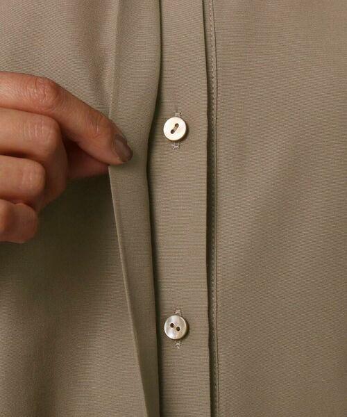 UNTITLED / アンタイトル シャツ・ブラウス | [L]【洗える】ライトタンブラークロスシャツジャケット | 詳細10