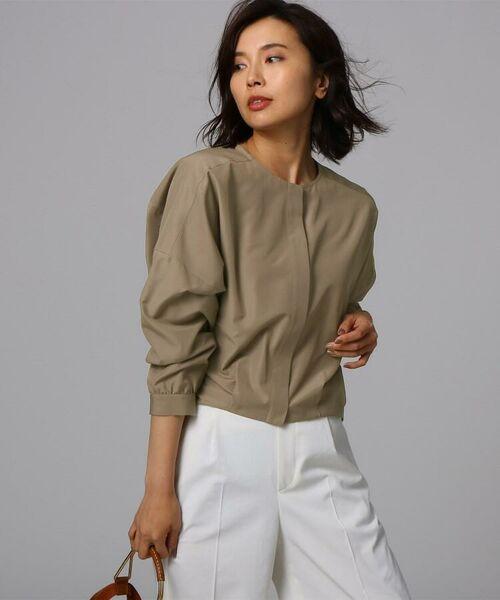 UNTITLED / アンタイトル シャツ・ブラウス | [L]【洗える】ライトタンブラークロスシャツジャケット | 詳細3