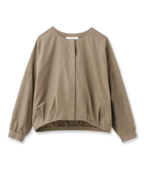 UNTITLED / アンタイトル シャツ・ブラウス | [L]【洗える】ライトタンブラークロスシャツジャケット | 詳細4