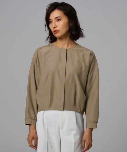 UNTITLED / アンタイトル シャツ・ブラウス | [L]【洗える】ライトタンブラークロスシャツジャケット | 詳細5