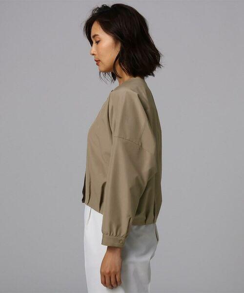 UNTITLED / アンタイトル シャツ・ブラウス | [L]【洗える】ライトタンブラークロスシャツジャケット | 詳細6