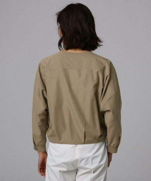 UNTITLED / アンタイトル シャツ・ブラウス | [L]【洗える】ライトタンブラークロスシャツジャケット | 詳細7