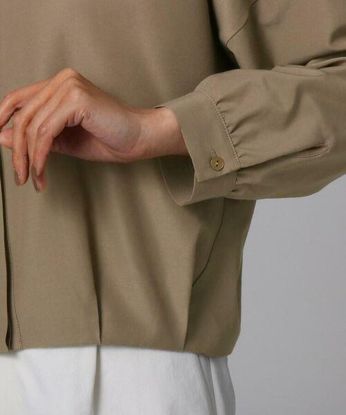 UNTITLED / アンタイトル シャツ・ブラウス | [L]【洗える】ライトタンブラークロスシャツジャケット | 詳細9