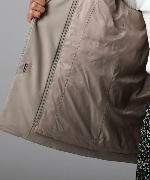 UNTITLED / アンタイトル ブルゾン   【洗える・撥水】インナーダウン付きフーデットジャケット   詳細10