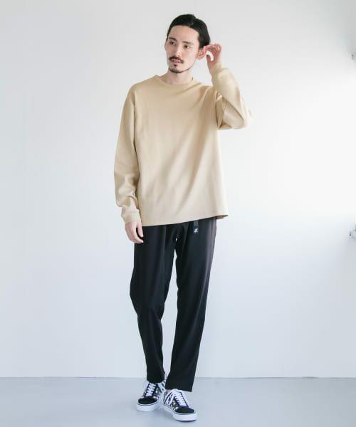 URBAN RESEARCH / アーバンリサーチ Tシャツ   ロングスリーブ度詰めワッフルルーズクルーネック   詳細12