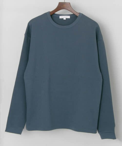 URBAN RESEARCH / アーバンリサーチ Tシャツ   ロングスリーブ度詰めワッフルルーズクルーネック   詳細17