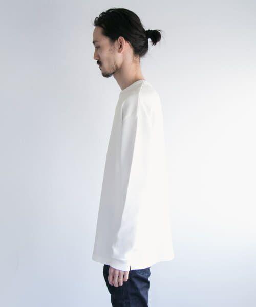 URBAN RESEARCH / アーバンリサーチ Tシャツ   ロングスリーブ度詰めワッフルルーズクルーネック   詳細19