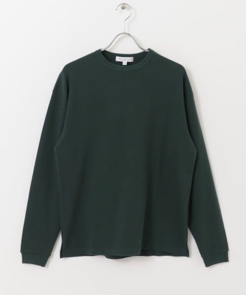 URBAN RESEARCH / アーバンリサーチ Tシャツ   ロングスリーブ度詰めワッフルルーズクルーネック   詳細23