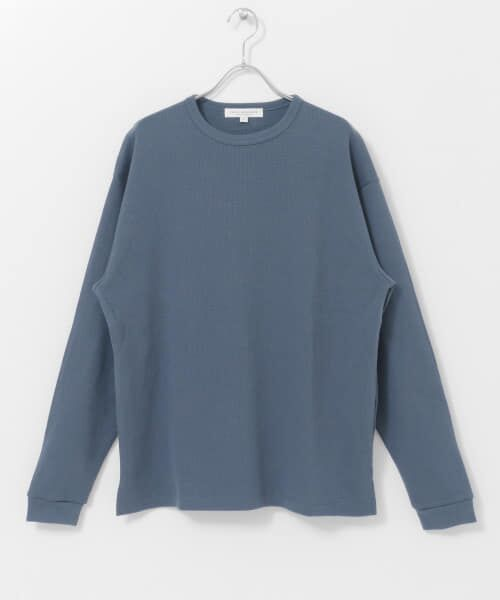 URBAN RESEARCH / アーバンリサーチ Tシャツ   ロングスリーブ度詰めワッフルルーズクルーネック   詳細24