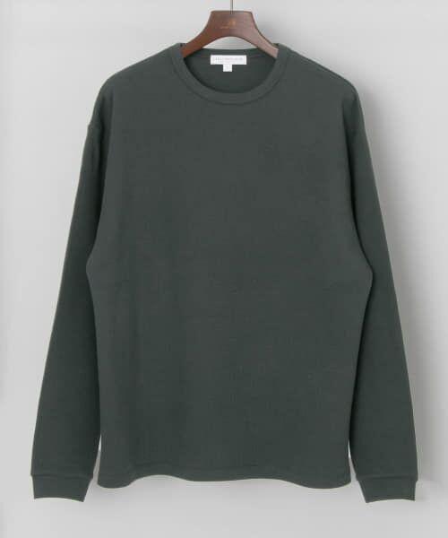 URBAN RESEARCH / アーバンリサーチ Tシャツ   ロングスリーブ度詰めワッフルルーズクルーネック   詳細27