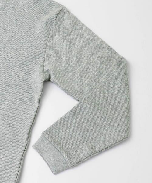 URBAN RESEARCH / アーバンリサーチ Tシャツ   ロングスリーブ度詰めワッフルルーズクルーネック   詳細28