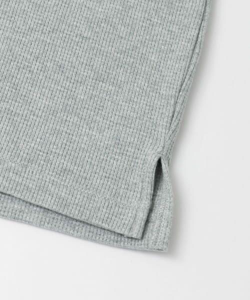URBAN RESEARCH / アーバンリサーチ Tシャツ   ロングスリーブ度詰めワッフルルーズクルーネック   詳細29