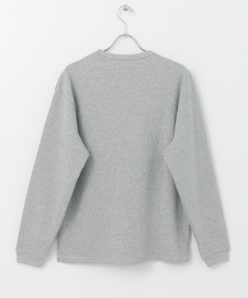 URBAN RESEARCH / アーバンリサーチ Tシャツ   ロングスリーブ度詰めワッフルルーズクルーネック   詳細30
