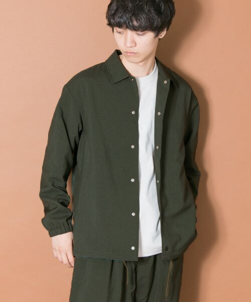 URBAN RESEARCH / アーバンリサーチ ブルゾン | URBAN RESEARCH iD WOOLLY COACH JACKET(KHAKI)