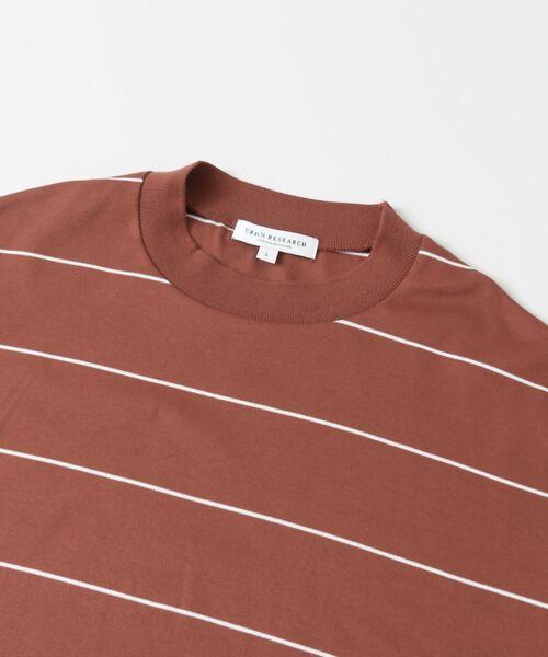 URBAN RESEARCH / アーバンリサーチ Tシャツ | ボーダーバルーンロングスリーブTシャツ | 詳細10
