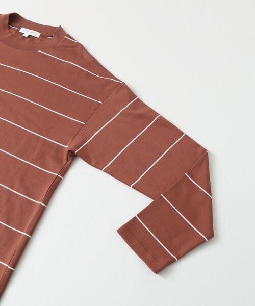 URBAN RESEARCH / アーバンリサーチ Tシャツ | ボーダーバルーンロングスリーブTシャツ | 詳細11