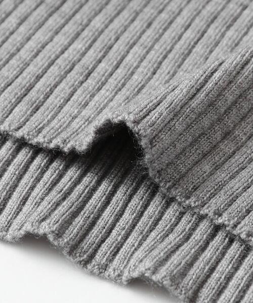 URBAN RESEARCH / アーバンリサーチ ニット・セーター | ウォッシャブルリブハイネックニット | 詳細15
