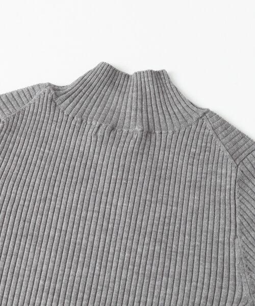 URBAN RESEARCH / アーバンリサーチ ニット・セーター | ウォッシャブルリブハイネックニット | 詳細16