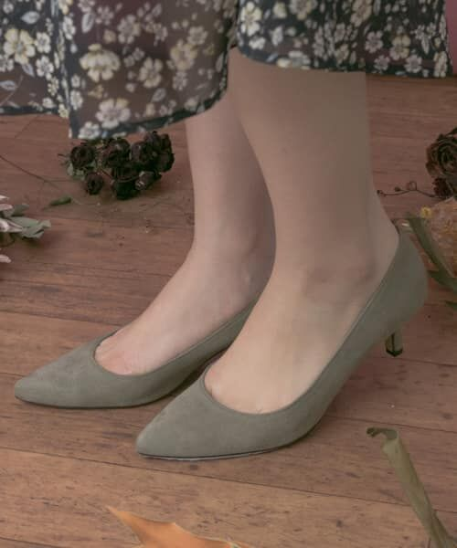 URBAN RESEARCH / アーバンリサーチ パンプス | MILLIWM Basic Pointed Pumps(GRAY)