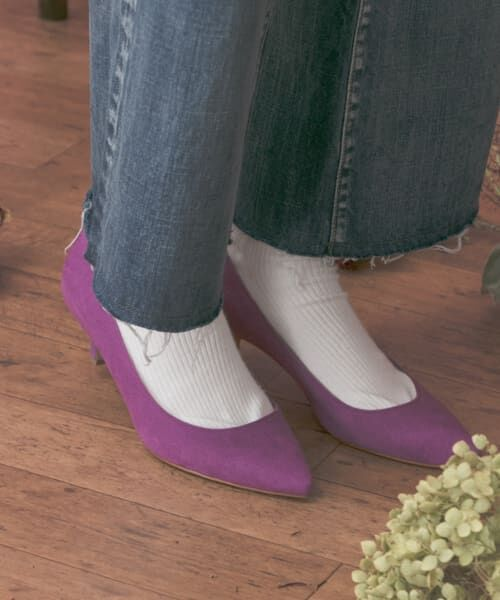 URBAN RESEARCH / アーバンリサーチ パンプス | MILLIWM Basic Pointed Pumps(PURPLE)