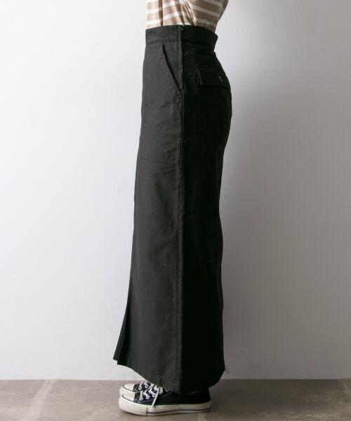 URBAN RESEARCH / アーバンリサーチ スカート | GUNG HO×URBAN RESEARCH 別注ベイカーロングスカート | 詳細10