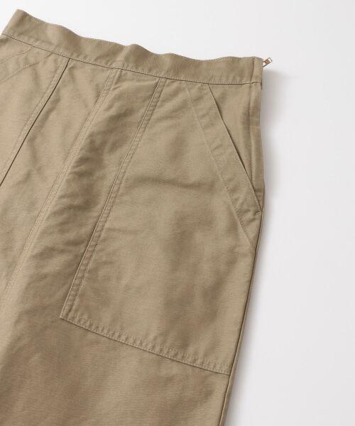 URBAN RESEARCH / アーバンリサーチ スカート | GUNG HO×URBAN RESEARCH 別注ベイカーロングスカート | 詳細14